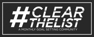 #ClearTheList | Language Goals for August, 2018